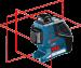 Laser professionnel Bosch GLL 3-80 P
